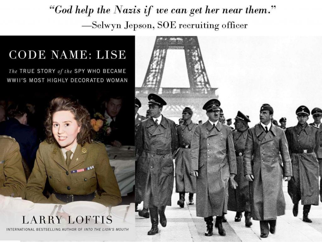 Code Name: Lise by Larry Loftis #TuesdayThoughts #TalkTuesday #Interview with author @LarryLoftis #TeaserTuesday #TuesdayBookBlog